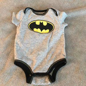 Batman onesie size 0 to three months